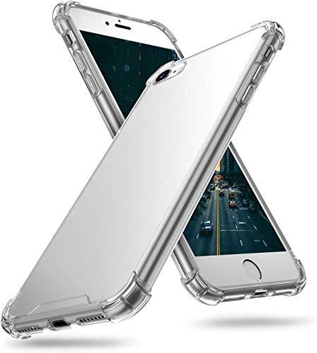 Funda para Samsung J5 2017/J5 Pro/J530 , Transparente Carcasa Protectora Antigolpes con Parachoques de TPU Suave Flexible Anti-Choques Cover Case