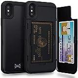 TORU Wallet Case for iPhone X - Matte Black Solid