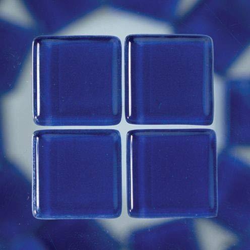 MosaixSoft 10x 10x 4mm 200g 215-piece Glas Fliesen, blau