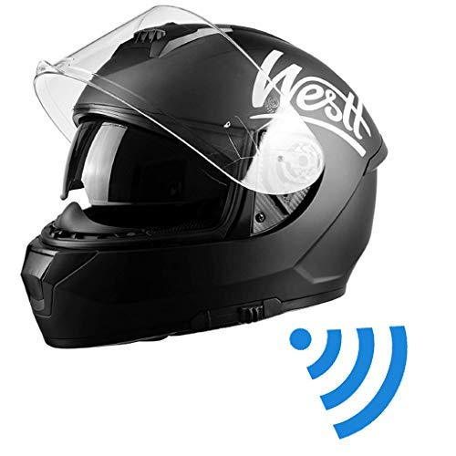 Westt Storm X - Full Face Motorcycle Helmet with Dual Visor DOT Approved…