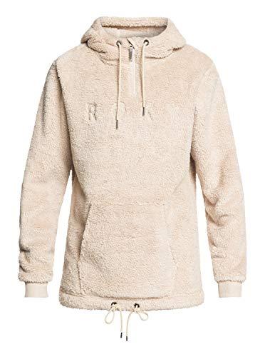 Roxy Damen Sweatshirt Pluma Sherpa grau (231) XL