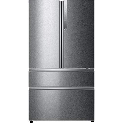 Haier HB26FSSAAA - Frigo congelatore americano, in acciaio INOX