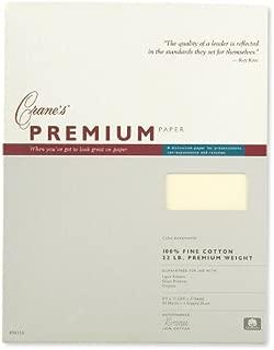 Crane & Co. Cranes Premium Weight Ecruwhite 8 1/2 X 11 Sheets (PS8116)
