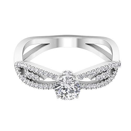 Anillo de compromiso de diamante...