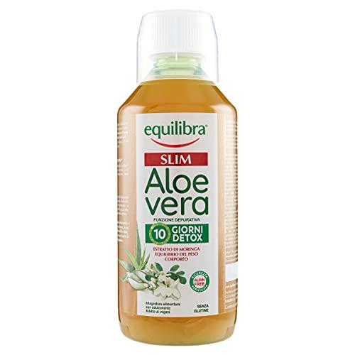 Equilibra Integratori Alimentari, Aloe Vera Slim, Integratore a Base di Aloe Vera ed Estratto di...