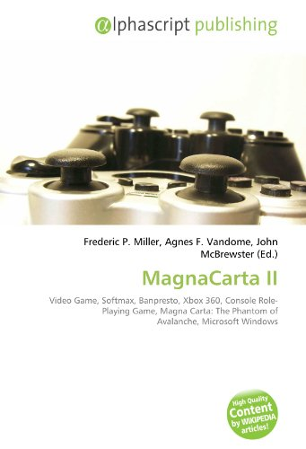 MagnaCarta II: Video Game, Softmax, Banpresto, Xbox 360, Console Role-Playing Game, Magna...