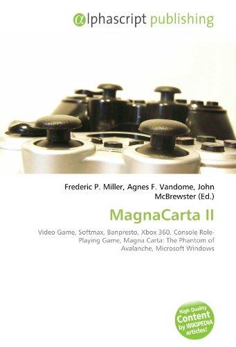 MagnaCarta II: Video Game, Softmax, Banpresto, Xbox 360, Console Role-Playing Game, Magna...