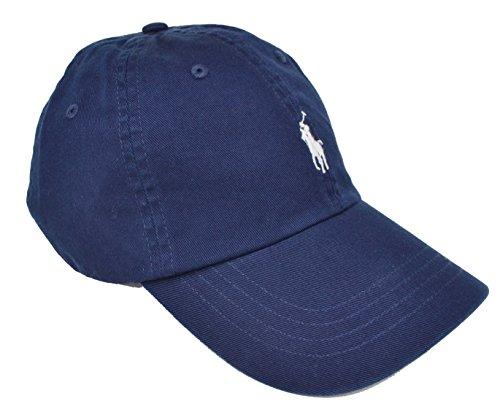 Ralph Lauren - Classic Sports Cap - Dunkelblau Blau - Baumwolle - One Size