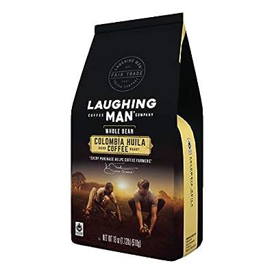 Laughing Man Dukale's Blend, Whole Bean Coffee, Medium Roast, Bagged 18 oz
