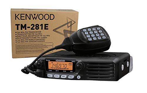 KENWOOD TM-281E Emisora movil VHF 144 MHz Potencia 65 watios