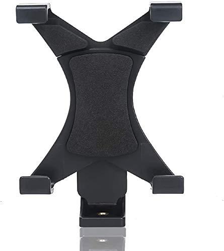 FAVOLCANO Universal Tablet Tripod Mount Adapter Clamp Holder for iPad 2, 3, 4, Air, Air2, iPad Pro 9.7 10.5,iPad Mini 2 3 4, Samsung Galaxy Tab 2 3 4, Tab Pro, Tab S, Google Nexus