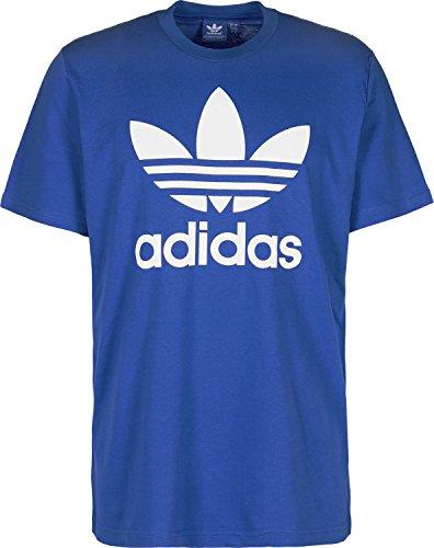 adidas Herren Originals Trefoil T-Shirt, Blue, L