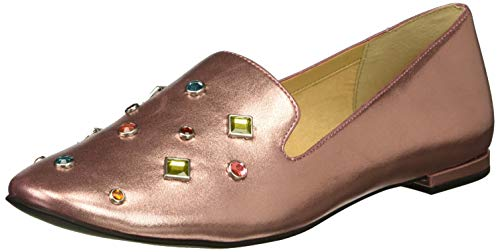 Katy Perry Women's The Turner Loafer Flat, Pink, 8.5 M Medium US