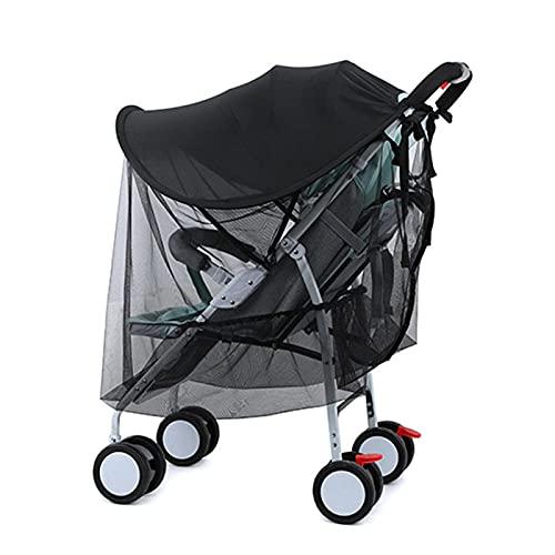 HEXLONG Toldo para cochecito de bebé universal con protección UV para cochecito de bebé, accesorios para cochecito de bebé, cochecito de paseo y carrycot