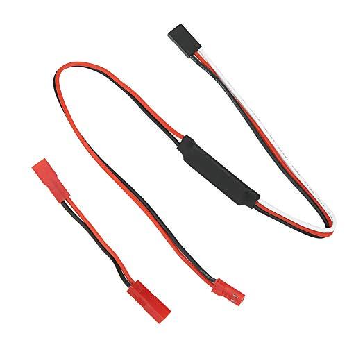 VGEBY RC Winch Controller, Winch Controller Adapterstecker Universalteile für Traxxas RC Car Model