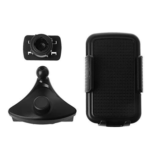 holilest Marco de navegación, Soporte Universal para teléfono para automóvil Ranura para CD Soporte para Soporte móvil Soporte para teléfono Celular para iPhone Samsung 3.5-6.5 Pulgadas Smartphone