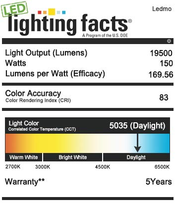 150W LED Parking Lot Lighting - Adjuatable with Photocell Slip Fitter LED Parking Lot Lights 19500lm 5000K Commercial LED Area Ligh IP65 Led Shoebox Light