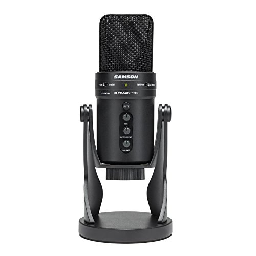 Samson G-Track Pro Professional USB Condenser Microphone with Audio...