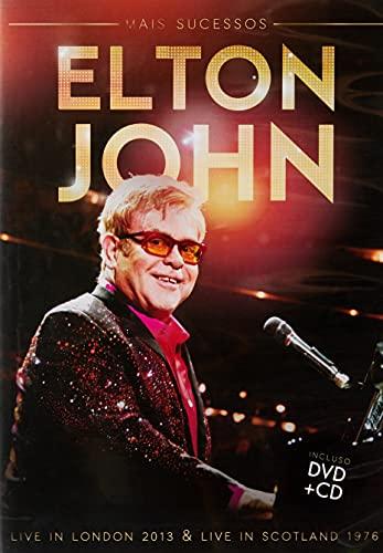 ELTON JOHN MAIS SUCESSOS - LIVE IN LONDON 2013 & LIVE IN SCOTLAND 1976 (DVD + CD)