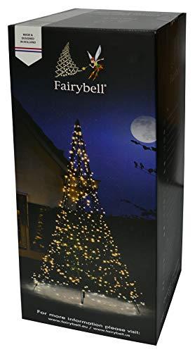 Fairybell LED Weihnachtsbaum, 640 Lichter, warmweiß, inkl. Mast