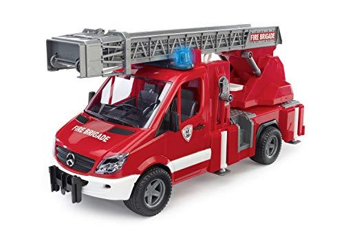 Sprinter Feuerwehr mit Drehleiter, Wasserpumpe, Stützen und Signalanlage