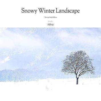 눈 오는 겨울 풍경 Snowy Winter Landscape