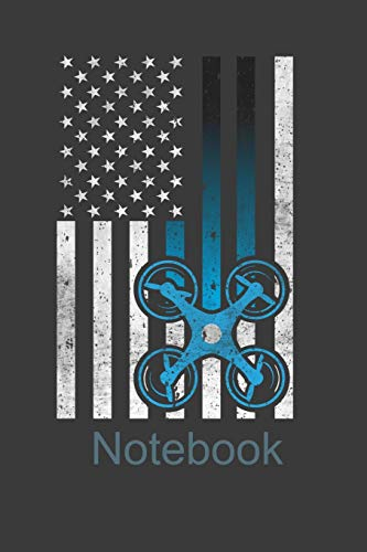 Notebook: Perfect Notebook For Drone Multicopter Pilot. Cute Cream Paper 6*9 Inch With 100 Pages Notebook For Writing Daily Routine, Journal and Hand Note