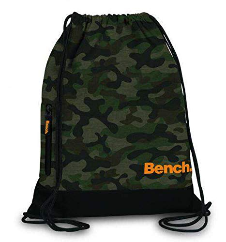 Bench Rücksacke Drawstring Backpack 37 x 45 cm. Olivgrün 64154-2600
