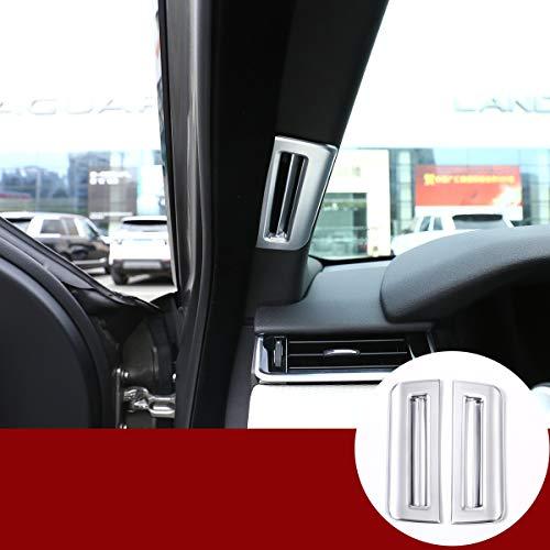 YIWANG Marco de rejilla de ventilación de ABS cromado para el interior...