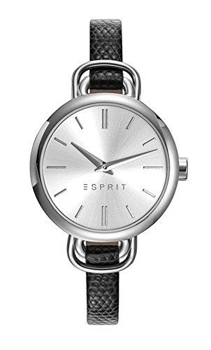 Esprit Damen Analog Quarz Uhr mit Leder Armband ES109542001