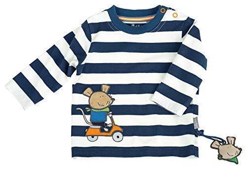 Sigikid Jungen, Baby Langarmshirt, Blau (Dark Denim 279), (Herstellergröße: 62)