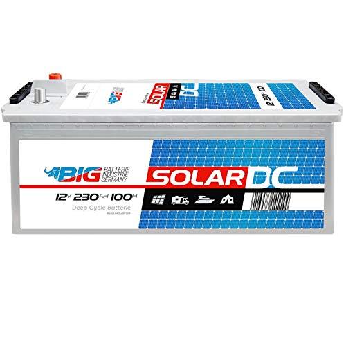BIG Solarbatterie 12V 230Ah Versorger Batterie Beleuchtung Boot statt 220Ah 200Ah
