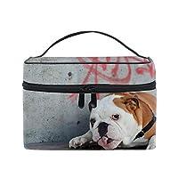 犬コスメバッグ 化粧ポーチ メイクバッグ ギフトプレゼント用 携帯可能