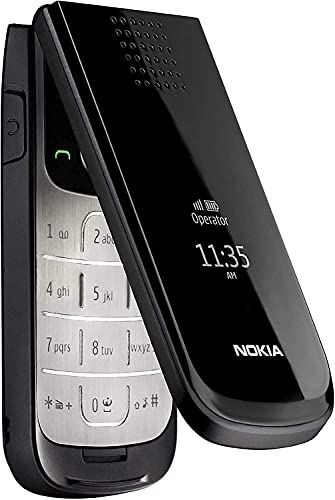 2720 Flip by HMD-N O K I A with 1.3 Mega Pixel Camera, Stereo FM Radio RDS, FM Recording - (Black)