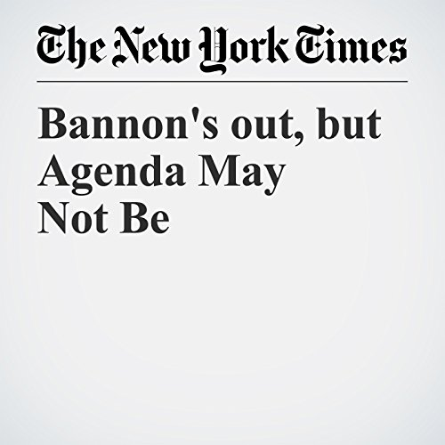 Bannon's out, but Agenda May Not Be copertina