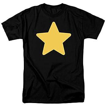 Steven Universe Greg Star Cartoon Network T Shirt & Stickers  Medium  Black