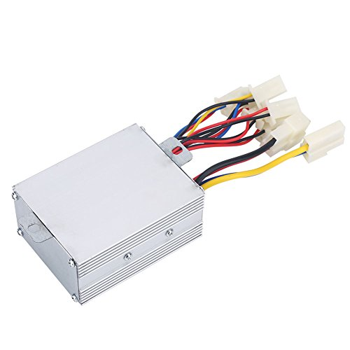 Alomejor 36V 500W Motor Brushed Controller Box Speed Brush Controller für Elektrofahrrad Roller Dreirad E-Bike Motor