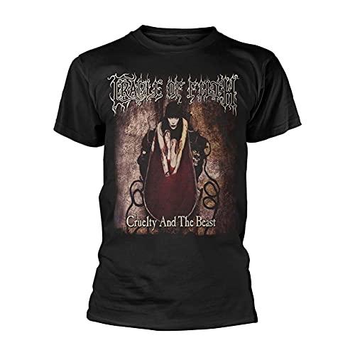 Cradle of Filth - Camiseta Cruelty and The Beast. Negro M
