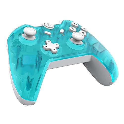 JFUNE Wireless Switch Pro Controller für Nintendo Switch Lite, Kabelloser Controller Bluetooth Gamepad mit Dual Vibration Turbo Gyroskop für Nintendo Switch