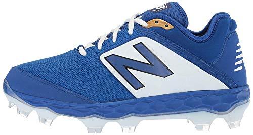 New Balance Men's 3000 V4 TPU Molded Baseball Shoe, Royal/White, 8 M US