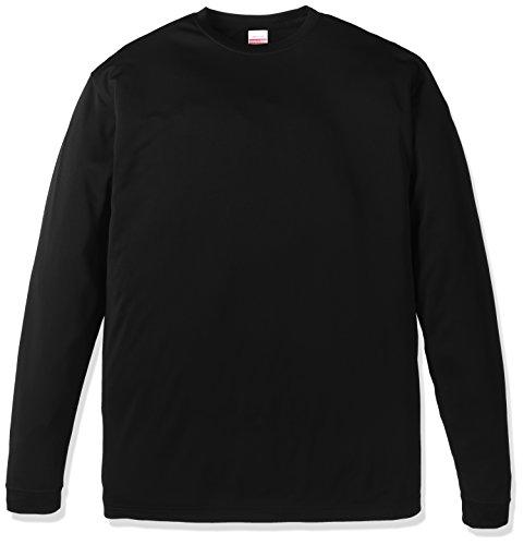 (ユナイテッドアスレ)UnitedAthle 4.7オンス ドライ シルキータッチ 長袖Tシャツ 508901 [メンズ] 002 ブラック M