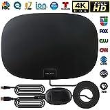 Antena de TV Interior, Antena de TV Digital HD amplificada de Largo Alcance de 200 Millas,...