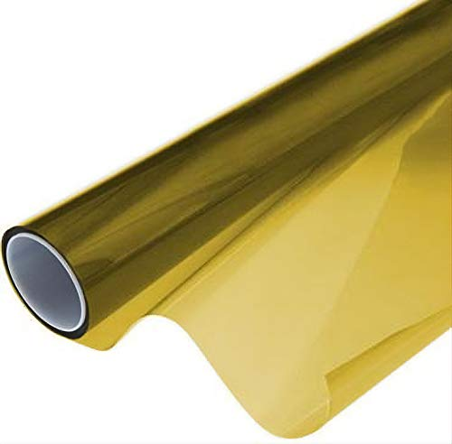VViViD Air-Tint Golden Yellow Headlight/Tail Light Window Tint (12 Inch x 24 Inch roll x2)