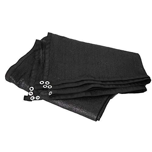 Shade net LDFZ 8-pins zonnedoek parasol – 90% UV-bescherming – verdikking van scherpe randen – schaduw serra/auto/afdekking voor installaties/tuin, terras en terras