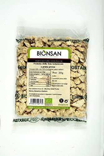 Bionsan Proteína de Soja Texturizada Gruesa | 1 Paquete de 200 g