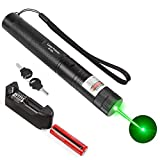 10. Anddicek Handheld Green Stage Light, Rechargeable Tactical Light Military Grade for Hiking, Camping, Hunting