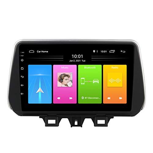 Radio de coche, Reproductor multimedia para coche Android 10 con pantalla táctil de 9 pulgadas para Hyundai Accent 2006-2011, con cámara de marcha atrás, Bluetooth,Wifi 1g+16g