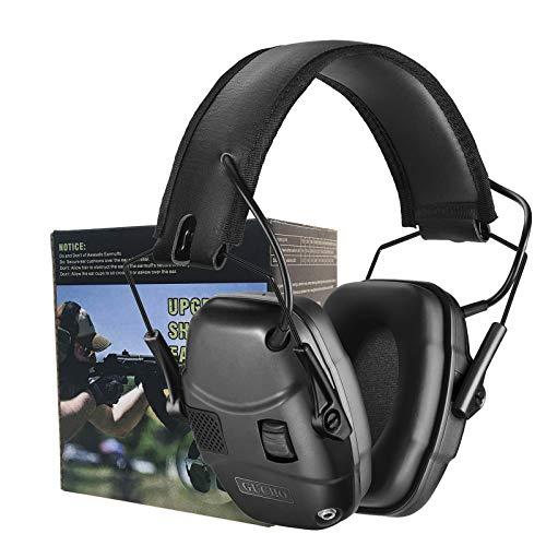 gun shooting ear protections Electronic Shooting Earmuff Hearing Ear Protection for Gun Range Noise Reduction