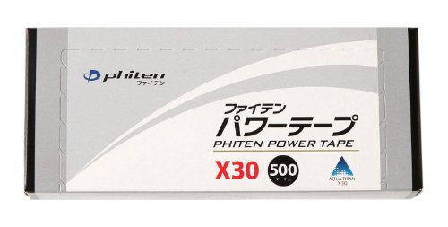 Phiten Titanium Power Tape X30 Patches 500pcs Sports Health Care Made in JAPAN