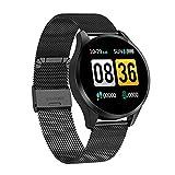 El Nuevo Reloj Inteligente Q9 Diámetro Touch Touch Diameter Smart Watch Es Adecuado para Damas Y Niñas, Compatible con Android Y iOS,C